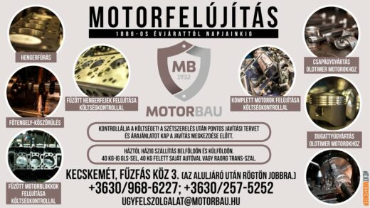 MOTORBAU: MOTORFELÚJÍTÁS