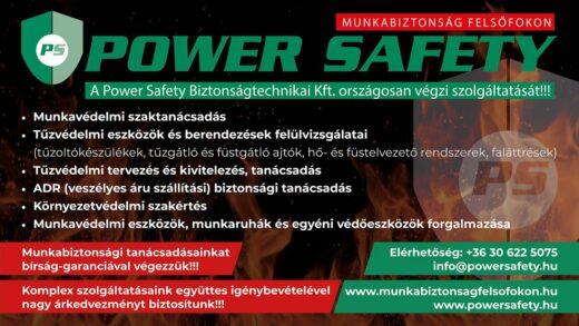 POWER SAFETY Biztonságtechnikai Kft.